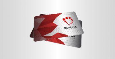 Cetak Metal Name Card Pranata Printing