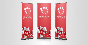 Cetak Roll Up Banner Pranata Printing