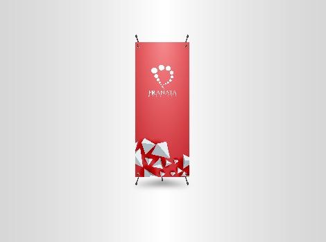 Cetak X Banner Pranata Printing