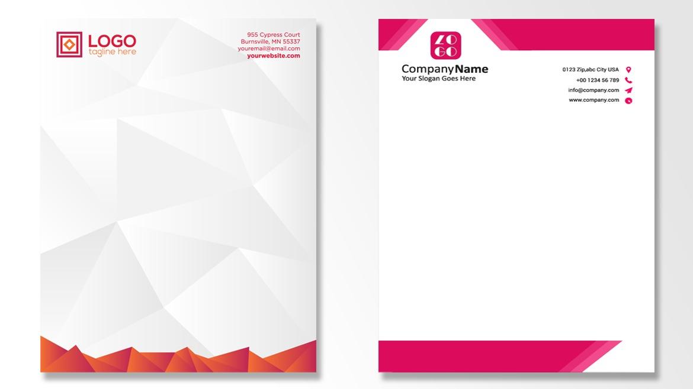 5 Tips Desain Kop Surat Yang Efektif - Pranata Printing