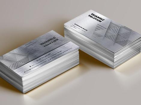 Cetak Metal Name Card Murah Jakarta Pranata Printing