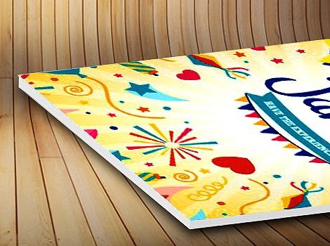 Cetak Poster With Foam Board Murah Jakarta Pranata Printing