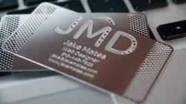 7 Tips Membuat Metal Name Card Yang Profesional