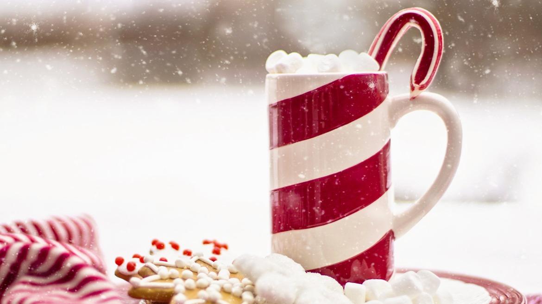 Desain Cetak Mug Cangkir Natal dan Tahun Baru