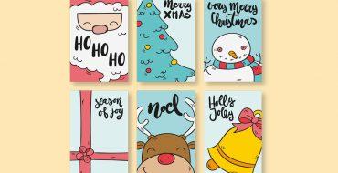 Kumpulan Ide Desain Cetak Untuk Natal dan Tahun Baru