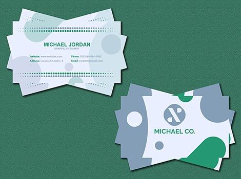 Kartu Nama Acquarello Pranata Printing