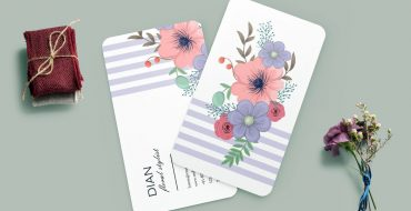 Tips Warna Desain Kartu Nama Sesuai Psikologi Wanita Pranata Printing